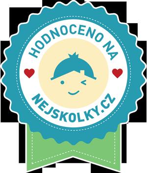 Ikonka 300px modrá zelená hodnoceno na nejskolky.cz