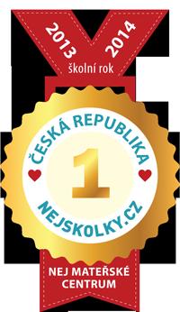 Medaile za první místo pro Dětský klub Kája a Pája
